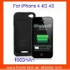 1900mAh External Battery Power Case for iphone 4G 4S