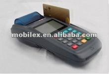 Móvil de la tarjeta de débito terminal con escáner de código de barras ( MX3100 polvo )