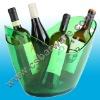 oval bollinger wine beer barrel