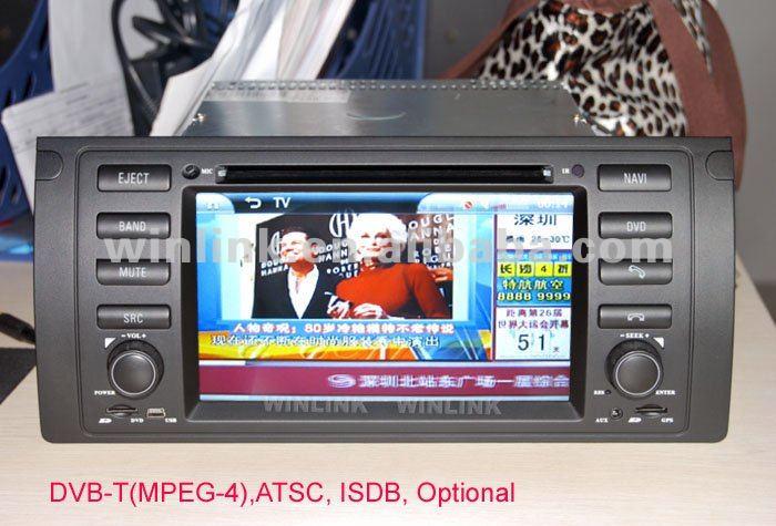 Na venda barato carro dvd player para BMW E39 E53 M5 com rádio GPS IPOD Bluetooth