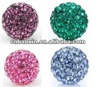 2012 new style crystal shamballa beads