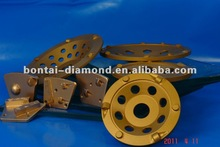 Diamond coating cutting wheel for paint and glue
