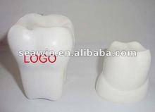 PU tooth anti stress reliever toy(polyurethane)