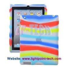2012 New Folk Premium Soft Silicone case for ipad 3
