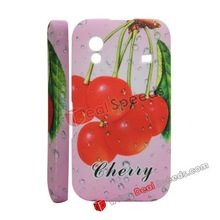 Fruit Silicone Case Cover for Samsung Galaxy Ace S5830(Cherry)