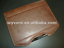2012 new PU leather notebook with pen