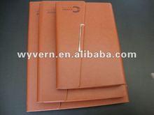 2012 pu leather agenda diary