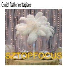 wholesale ostrich feather centerpieces wedding decoration