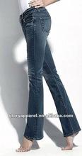 2012 women flare jeans pants new style design pants