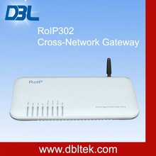 "DBL""Voice over internet "" ""Roip gateway""/audio over internet cross network gateway roip 302 with 3 ports"