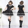 Punk Gotik Lolita Alice Lolita Giydir tatlı 81077 çiçek elbise