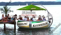 [Ali Brothers]inflatable colorful boat / battery motor boat / adult and kids bumper boat