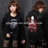 fashion Visual Kei Punk Gothic ROCK top shirt coat 71153