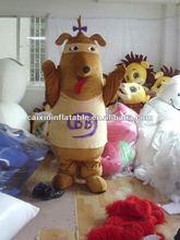 2012 dog mascot costume