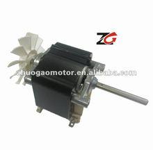 shaded pole motor for cross flow fan