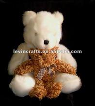 big teddy and tiny teddy bear toy