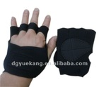 Neoprene weightlifting gloves