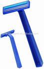 D211 twin blade shaving razor with/without lubricant strip / Les lames de rasoir jetables