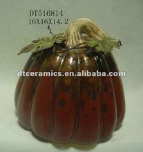 Harvest decoration ceramic pumpkin