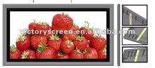 """VICTORY92""""Fixed frame screen with Aluminium Frame, Velvet 16:9"""