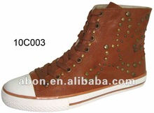 2012 New style pu mid cut boots for women