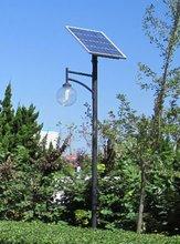 3M pole CE proved solar garden lamp 10W LED bulb
