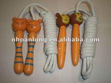 fashion animal shape handle children jumping rope