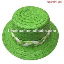 fashion paper children straw hat