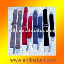 Aircraft buckle stretcher seat belt/medical equipment belt