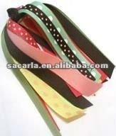 plain ribbon hair ornament 2012 new style