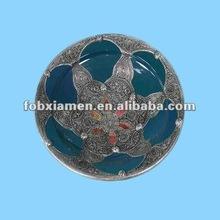 Vintage en céramique maroc plaques