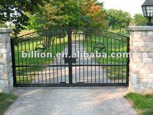 2012 china manufacturer home decorative morden wrought iron gates automatic sliding gates driveway door design
