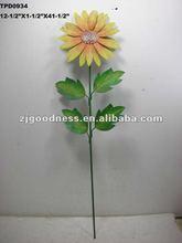 """41-1/2""""H Metal Spring Flower Yard Stake"""