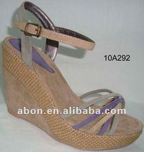 2012 Newest style women's wedge platform sandals