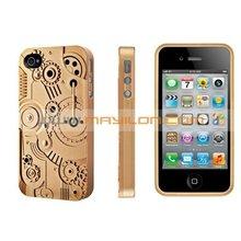 Plastic Clock Case for iPhone 4
