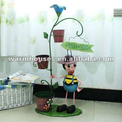 Los beatles de la flor barril de hierro muñecas, Forjado artículos de tapicería hierro y super gran hierro muñecas, La decoración del hogar, Creativ