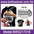 elettronica rock tamburo camicie da uomo di lusso