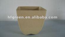 biodegradable eco square garden pot