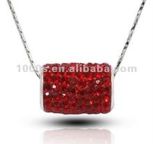 2012 New design crystal bar pendant jewelry