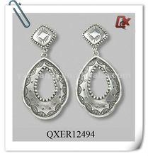 Fashion alloy tear earrings (QXER12494)