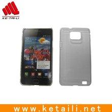 White plastic phone case for Samsung i9100