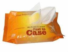 15pcs 25pcs 40pcs airline wet wipe OEM welcomed