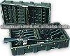 rotational moulded gun plastic tool box , rotomolding tool box