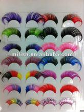 Party Halloween Carnival Colorful Cheap Crazy False Eyelash ME-0200
