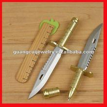 Hot design cartoon plastic sword pen