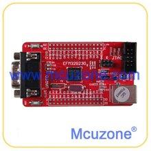 Energy Micro EFM32G230F128 Mini Board, 128KB FLASH, 3x USART 2x UART, 12Bit ADC and DAC