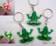 2012 New Flashing Frog keychain/keyring