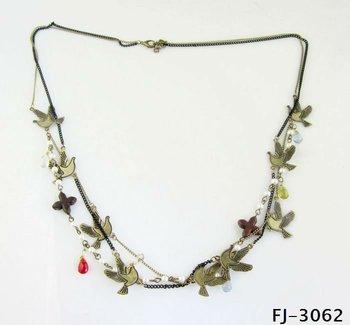 Gold Jewelry With Birds