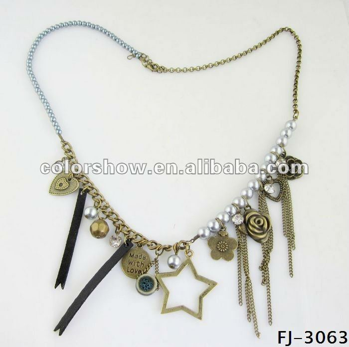 2012 new design pearl necklace