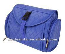 multi-function microfiber with mesh pocket cosmetic bag